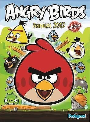 """""""AS NEW"""" Angry Birds Annual 2013 (Annuals 2013), Pedigree Books Ltd, Book"""
