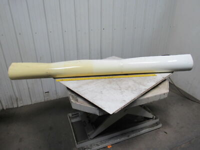 "2 Ply White Smooth Top Conveyor Belt 9' X 87-7/8"" X 0.90"""