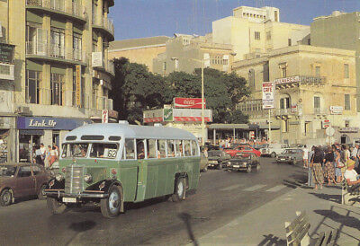 Ak Ungel. The Busiest City Of Them All Sliema  Malta  (G3129)