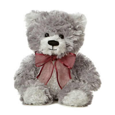 Aurora World Plush - Teddy Bear - PLATINUM SUGAR (Small - 8 inch) - New
