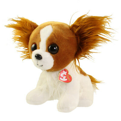 TY Classic Plush - BARKS the Dog (9.5 inch) - MWMTs Stuffed Animal Toy