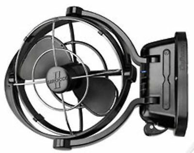 Boat Marine RV Fan Sirocco II Gimbaled Fan 3 Speed Black Caframo