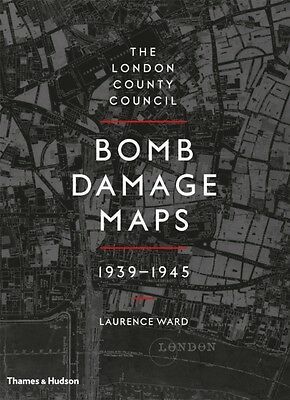 The London County Council Bomb Damage Maps 1939-1945 (Hardcover),. 9780500518250