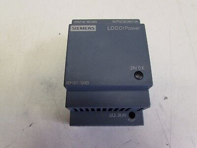 Siemens 6Ep1331-1Sh03 Logo! Power Supply 24Vdc 1.3A Nice Used Takeout Make Offer