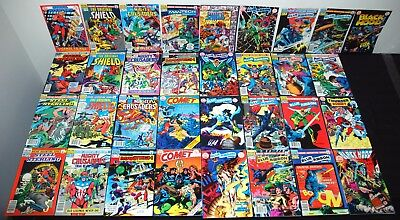 Archic Red Circle Comics Lot Of 33 Steel Sterling Mighty Crusaders Shield+ L75