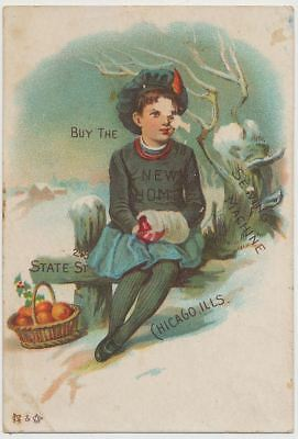 New Home Sewing Machine - Victorian Trade Card