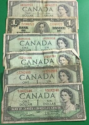 1900s Old World Paper Money Currency Collection of 13 Assorted Notes!