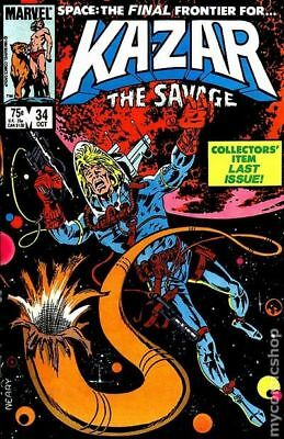 Ka-Zar the Savage (1981) #34 VF