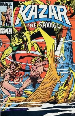 Ka-Zar the Savage (1981) #31 VF