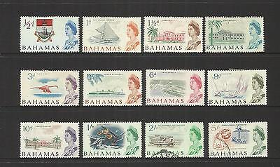 Bahamas ~ 1965 Qe Ii Definitives ~  Part Set