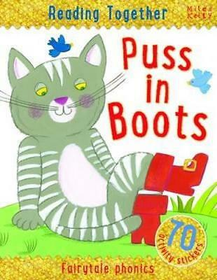 NEW Reading Together - Puss In Boots By Miles Kelly Paperback Free Shipping