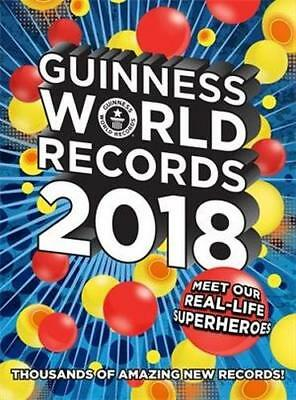 NEW Guinness World Records 2018 By Guinness World Records Hardcover