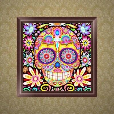 Skull DIY 5D Diamond Embroidery Painting Cross Stitch Home Decoration