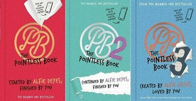 Pointless Book 1, 2 & 3 - Alfie Deyes 3 Book Set Collection