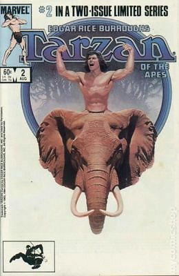 Tarzan of the Apes (1984 Marvel) #2 FN