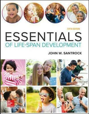 Essentials of Life-span Development 5th Edition by John W. Santrock Paperback Bo