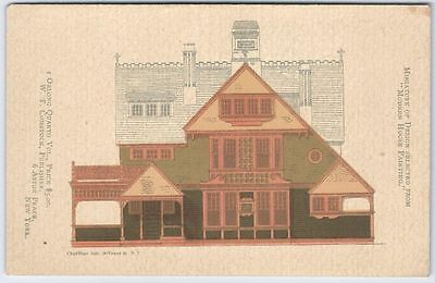 1882-3 Victorian House Paint Scheme Color Book Advertising Trade Card