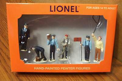 Lionel Railroad Yard People Pack Hand-Painted Pewter O Gauge