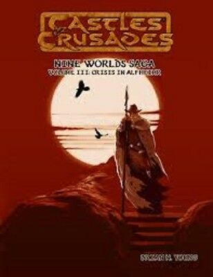 Castles & Crusades Crisis In Alfheimr Roleplaying Game Book Brand New Cheap!!