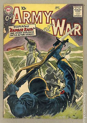 Our Army at War (1952) #60 GD/VG 3.0