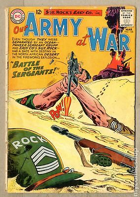 Our Army at War (1952) #128 FR/GD 1.5