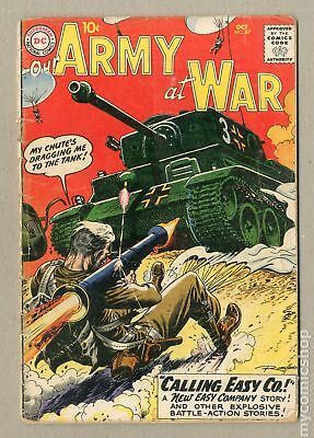 Our Army at War (1952) #87 FR/GD 1.5