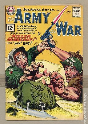 Our Army at War (1952) #114 GD- 1.8