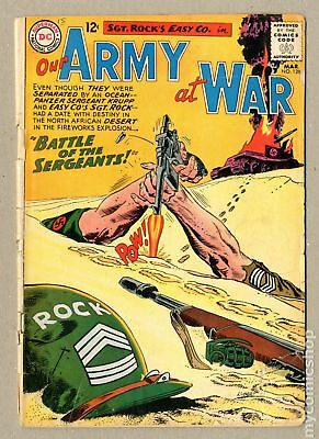 Our Army at War (1952) #128 GD- 1.8
