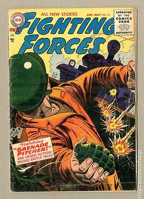 Our Fighting Forces (1954) #10 GD- 1.8