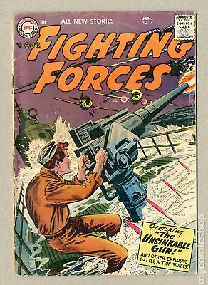 Our Fighting Forces (1954) #17 GD 2.0