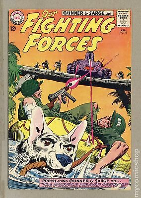 Our Fighting Forces (1954) #75 VG 4.0
