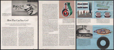 Technology DEC 1950 Flatness/Lapping 6-page Fortune Magazine Article