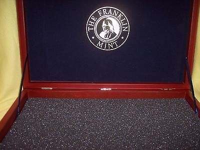 "THE FRANKLIN MINT PRESIDENTIAL COIN DISPLAY CASE,  EAGLE BOX,   17"" x 12"""