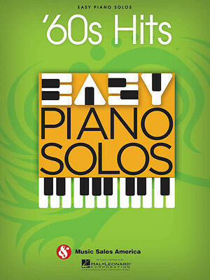 60s Hits Easy Piano Solos for Beginner Sheet Music 25 Songs Hal Leonard Book NEW