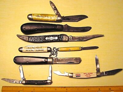 Antique Knife Collection - Lot Of (8) -