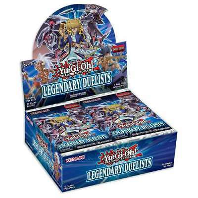 Yu-Gi-Oh Legendary Duelists Booster Box Sealed New Yugioh