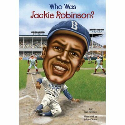 Who Was Jackie Robinson? (Who Was...? (PB)) - Library Binding NEW Gail Herman 20