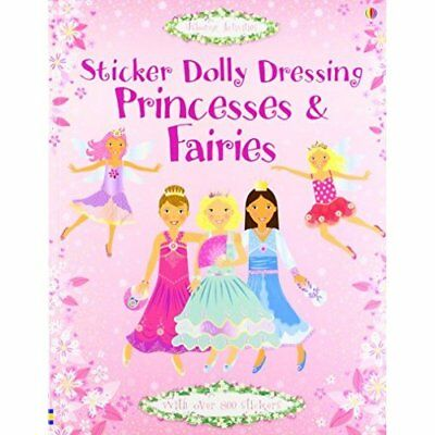 Princesses and Fairies (Sticker Dolly Dressing) - Paperback NEW Watt, Fiona 2007