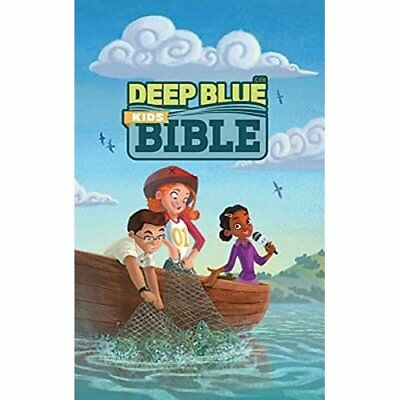 Ceb Common English Bible Deep Blue Kids Bible Bright Sk - Hardcover NEW Common E