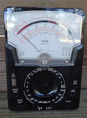 Triplett 630-Na Replacement Front Panel & Meter- New From Old Stock