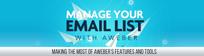 Manage Your E-Mail List with Aweber- 23 Videos on CD