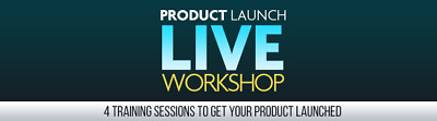 Product Launch LIVE Video Workshop- 4 Training Session Videos on CD