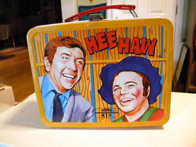 1970 Hee Haw TV Show King Seeley Thermos Metal Lunchbox