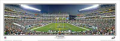 Philadelphia Eagles NFL GAME NIGHT Lincoln Financial Fld Panoramic POSTER Print