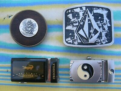 Six Belt Buckles - Crocodile - Levi's - Bts And Others