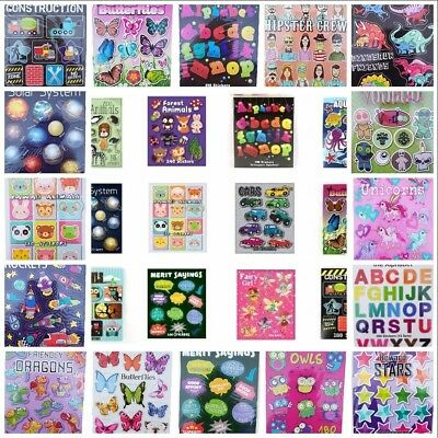 """""""MINI STICKER BOOKS"""" Over 54 Different Themed Books To Choose From"""