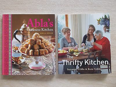 2 x Mini Cookbook Collection~Abla's Lebanese Kitchen & Thrifty Kitchen~2 x 60pp