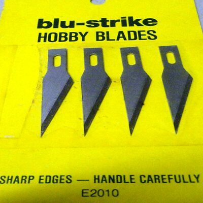 HOBBY KNIFE BLADES - 1 pack of 4 blades