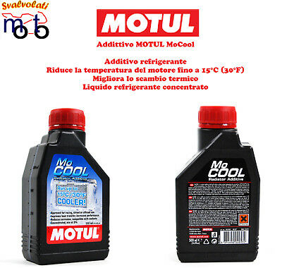 ADDITIVO MOTUL MoCOOL RIDUCE LA TEMPERATURA FINO A 15°C 500 ML.