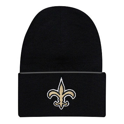 New Orleans Saints Officially Licenced NFL Cuffed Knit Hat